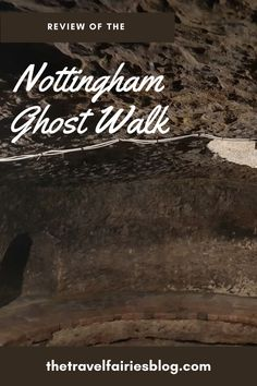 Review of the Original   Nottingham Ghost Walk, the perfect Halloween attraction | Things to do in   Nottingham, England | Visit haunted places like the castle, caves and pubs   whilst listening to stories of the cities dark and gruesome history | This   ghost tour cannot be missed next time you travel to Nottingham #europetravel   #darktourism #nottingham #ghosttour Nottingham City Centre, Halloween Attractions, Ghost Walk, Ghost Tour, Travel Items, Weekend Breaks, Haunted Places, Travel Couple
