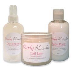 Curly Kinks Natural Hair Product Line