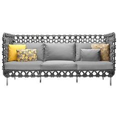 Cabaret Sofa by Kenneth Cobonpue | From a unique collection of antique and modern sofas at http://www.1stdibs.com/furniture/seating/sofas/