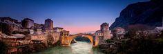 Mostar-Panorama | Discovered from Dream Afar New Tab