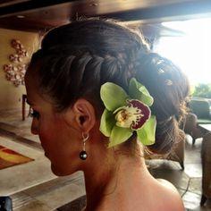 Bridesmaid Updo  #hair #updoideas #bridesmaid