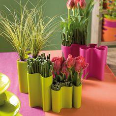 Vase Clara solid pink