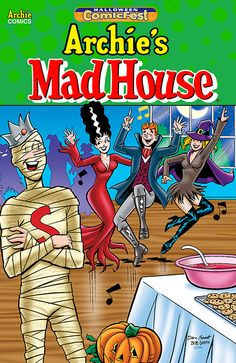 It's a Maaaaadhouse! Archie is proud to present an assortment of shenanigans from Archie's Madhouse, a series of wild and wacky tales that are sure to leave you laughing and going crazy for more!