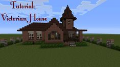 Minecraft - How to build a Victorian House - Tutorial