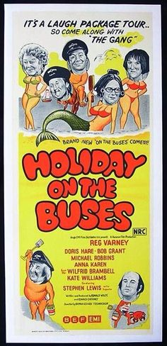 Holiday On The Buses poster.