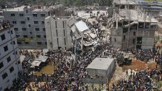 Channel4: Bangladesh factory collapse six months on - what's changed? - More than 70 people are killed on the outskirts of the Bangladeshi capital Dhaka after a building collapses (picture: Reuters)