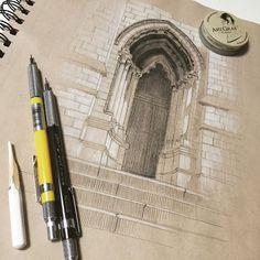 toned sketchbook