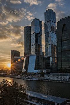 Moscow City sunset by Lyudmila Izmaylova on 500px