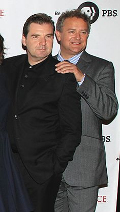 lovely chums Brendan Coyle, Hugh Bonneville, Downton Abbey, Great Britain, Muscles, Theatre, Appreciation, Lord, Middle