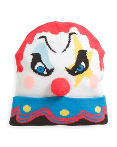 love IT Scary+Clown+Cuffed+Hat+With+Sound