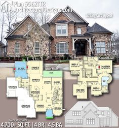 Plan Striking Curb Appeal Plan Striking Curb Appeal Laura Bornholdt bornholdlaura Barbie dream house Architectural Designs Home Plan gives you 4 bedrooms […] room layout floor plans Dreamhouse Barbie, The Plan, How To Plan, Dream House Plans, House Floor Plans, My Dream Home, Curved Staircase, Grand Staircase, Interior Columns