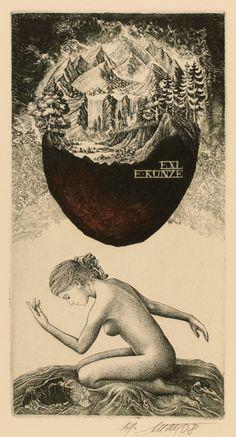 Ex Libris, Ephemera, Illustration Girl, Vintage Posters, Love Art, Erotic Art, Plates, Fantasy Art, Prints