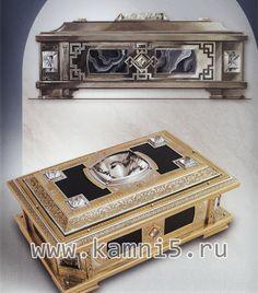 Подарочная шкатулка для драгоценностей | Каменных дел мастера