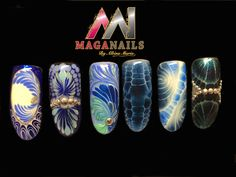 One Coat Color Gel, Gelpolish, Magnetic Nails, Maganails, Albinamaria.