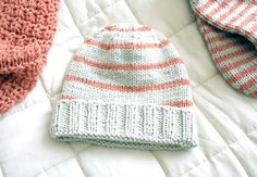Hello New York hat, free pattern by Pickles.