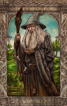 Гэндальф ArtStation - Gandalf, a. Fantasy Portraits, Fantasy Artwork, Fantasy Map, Gandalf Tattoo, Wizard Tattoo, John Howe, Let's Make Art, O Hobbit, Jrr Tolkien