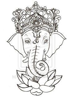 Ganesha Tattoo by ~Metacharis on deviantART: