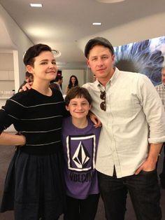 Ginnifer, Jared, and Josh