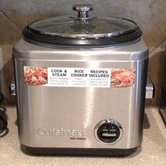 Cuisinart Rice Cooker #ricecooker #cuisinart #kitchengadget #kitchenappliance #kitchengadgetaddict #instadaily #instaphoto #instaaddict #igdaily #igaddict - @topakin71- #webstagram