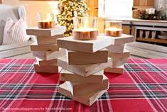Image result for diy wooden candle holders