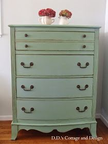 D.D.'s Cottage and Design: Cottage Green Dresser