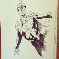 ECCC 2015 commissions - batch 1  Doctor Strange - Wonder Woman - Spider-Punk - Maddie Pryor - Nate Grey - Kate Bishop