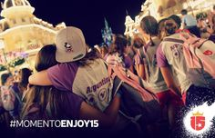 #momentoEnjoy15 es mirar el show en Disney's Magic Kingdom con tus amigas....