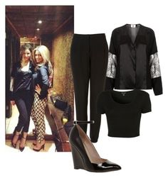 """""""Eleanor Calder Inspiration"""" by fanny483 ❤ liked on Polyvore featuring Mode, Unique, KG Kurt Geiger und Topshop"""
