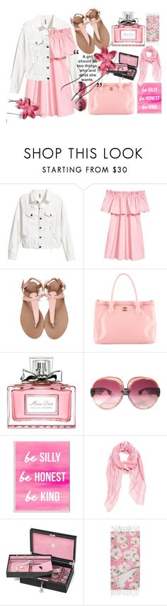 """Untitled #94"" by shreya-stark ❤ liked on Polyvore featuring Chanel, Christian Dior, Yves Saint Laurent, Stupell, Fendi, Aspinal of London and Marinette Saint-Tropez"
