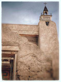 San Jose De Gracia Church Trampas High Road To Taos Scenic Byway New Mexico pbb586