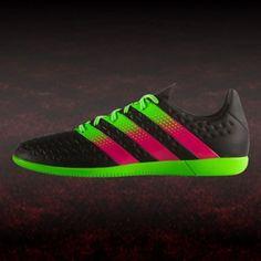 baa643f3a22edf adidas ACE 16.3 IN J Fußball Kinder Hallenschuh schwarz   hallenfußballschuhe  adidas