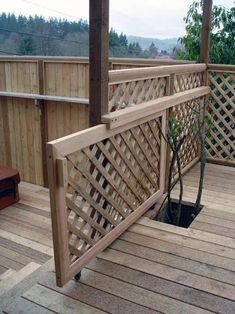 Popular Above Ground Pool Deck Ideas. This is just for you who has a Above Ground Pool in the house. Having a Above Ground Pool in a house is a great idea. Tag: a budget small yards Cool Deck, Diy Deck, Porch Gate, Front Porch, Front Deck, Front Entry, Unique Garden, Sliding Gate, Deck Railings