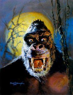 King Kong by Basil Gogos