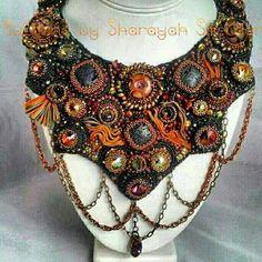 PELE Godess of Molten Lava Shibori Silk Ribbon and от 4uidzne