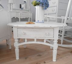 SOLD  coffee table shabby chic furniture by backporchco on Etsy, $95.00
