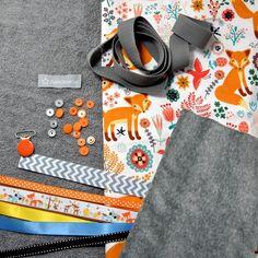 """KIT à coudre """"cadeau de naissance"""" baby box - DIY : Kits, tutoriels Couture par pikebou"""