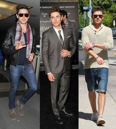Zac Efron styling....Love all of Zac's outfits!