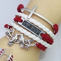 Wholesale Punk Style Women's Multi-Layered Friendship Bracelet Only $1.06 Drop Shipping | TrendsGal.com