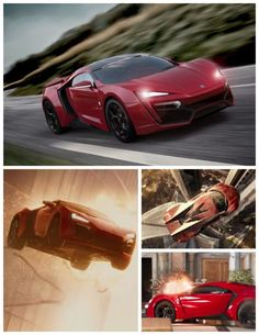 At $3.4 million the Lykan Hypersport is the most expensive car ever featured in the Fast&Furious series.