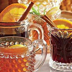 Spiced Wine | This soothing drink is a riff on warm German spiced wine.