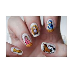 Manicure: Nativity Scene
