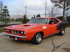 Cuda Plymouth Muscle Cars, Dodge Muscle Cars, Best Muscle Cars, American Muscle Cars, My Dream Car, Dream Cars, Auto Retro, Sweet Cars, Belle Photo