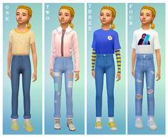 Kid games 850406342118481909 - The Sims 4 Maxis Match Custom Content Source by lealegrouyer Sims 4 Toddler Clothes, Sims 4 Cc Kids Clothing, Sims 4 Mods Clothes, Toddler Outfits, Kids Outfits, Women's Clothing, Maxi Outfits, Children Clothing, Clothing Stores