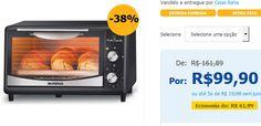 Forno Elétrico Mondial Pratic Cook 6 Litros 424001 FR09 << R$ 9990 em 5 vezes >>