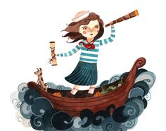 https://flic.kr/p/8tJo1v | sailor girl | 'she took her treasure map, steadied herself and set sail in her little boat...'