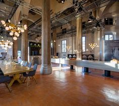 THE Restaurant by Tom Dixon and Caesarstone Tom Dixon, Fine Dining, Dining Table, Dining Rooms, Best Interior, Retail Design, Table Decorations, Architecture, Modern