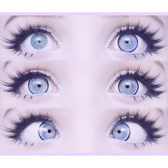 """@milkwhore on Instagram: """"I love these circle lenses from... ❤ liked on Polyvore featuring eyes, makeup and pictures"""