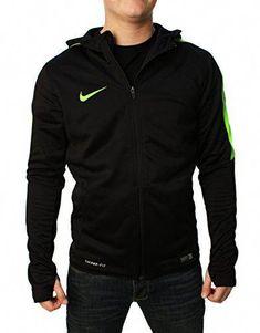 wholesale dealer 7f952 d77a4 Soccer Hoodies, Black Knit, Knit Jacket, Nike Outfits, Nike Men, Athletic