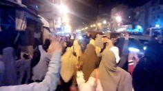 ثوار الرمل يتظاهرون رافضين اتفاقية سد النهضة