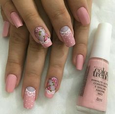Colorful Nail Designs, Nail Art Designs, Iris Nails, Kylie Lipstick, Nail Arts, Winter Nails, Manicure And Pedicure, You Nailed It, Pretty